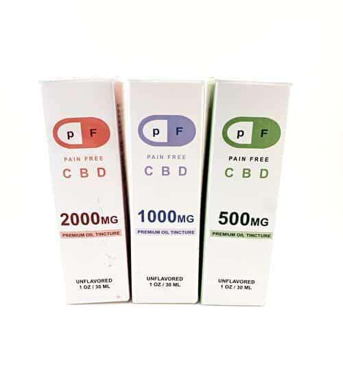 Pain Free CBD Tinctures