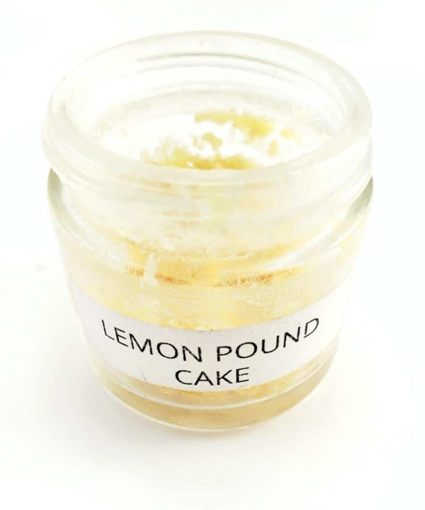 Lemon Pound Cake Crumble