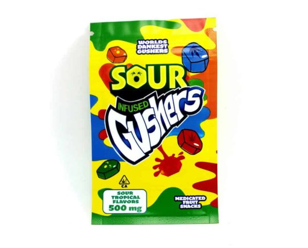 Medicated Sour Gushers Edibles