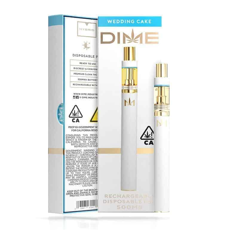 Dime Disposable Pen Disposable carts Dime cart disposables 3