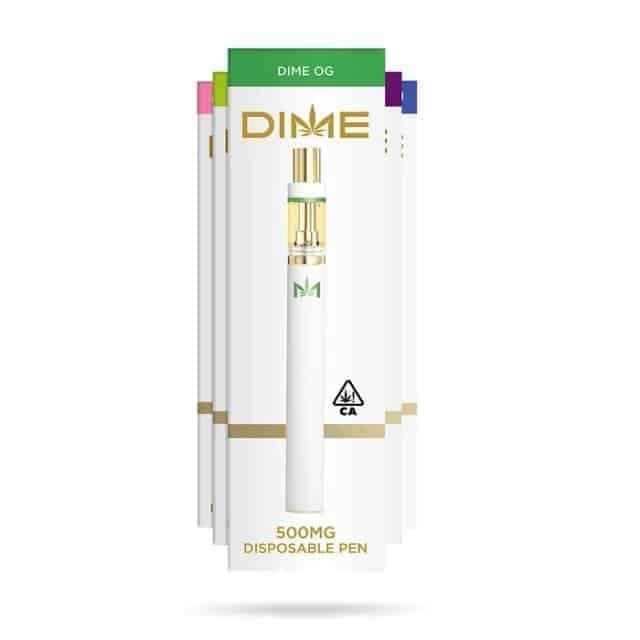 Dime Disposable Pen Disposable carts Dime cart disposables