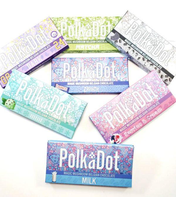 Polka Dot Psilocybin Chocolate Bars 2