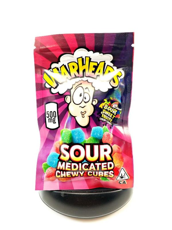 Medicated Warheads Cubes Warheads Edibles
