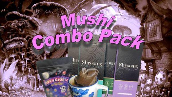 Magic Mushroom Trifecta Combo Pack